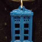 Tardis Necklace Charm