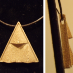 Triforce Necklace Pendant