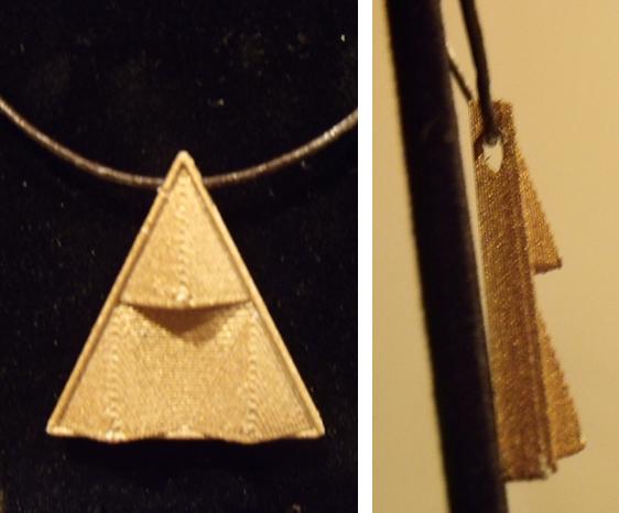 Triforce Necklace Pendant Triforce Necklace Pendant