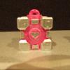 Cute Companion Cube Charm
