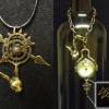 White Rabbit Necklace Watch Charm v1 & v2 Bracelet Bundle
