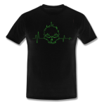 Heart Beat Skull Shirt