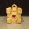 Golden Companion Cube