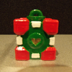 Holiday Companion Cube Ornament