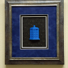 Tardis Shadow Box Custom Frame