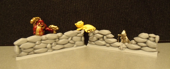 Rock Wall Miniatures Set