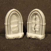 Stone Dungeon Door Miniature with 2 Sides